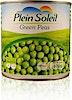 Plein Soleil Green Peas Can 400 g