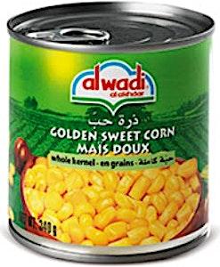 Alwadi Alakhdar Sweet Corn 340 g
