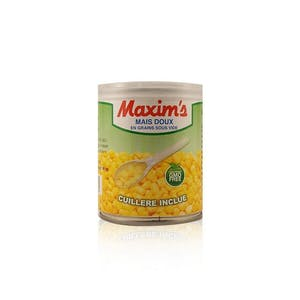 Maxim's Whole Sweet Corn 180 g with Spoon