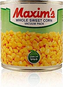 Maxim's Whole Sweet Corn 340 g
