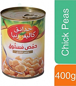 California Garden Chick Peas Ready to Eat 400 g