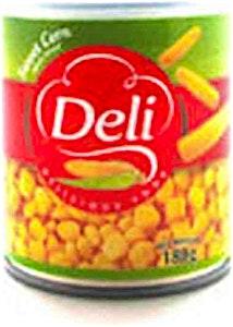 Deli Sweet Corn With Spoon - 180 g