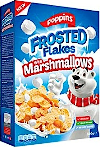 Poppins Frosted Flakes & Marshmallows 350 g