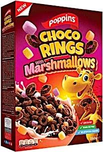 Poppins Choco Rings & Marshmallows 350 g