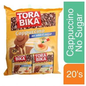 Tora Bika Cappuccino No Sugar 20's x 12.5 g