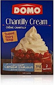 Domo Creme Chantilly 2 Sachets 72 g