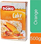Domo Cake Mix Orange 500 g
