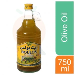 Boulos Extra Virgin Olive Oil 750 ml