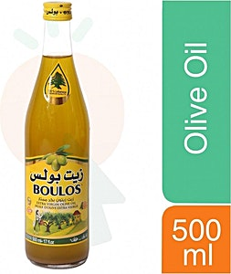 Boulos Extra Virgin Olive Oil 500 ml
