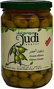 Judi Green Olives 600 g
