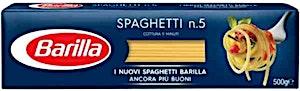 Barilla Spaghetti no.5 500 g