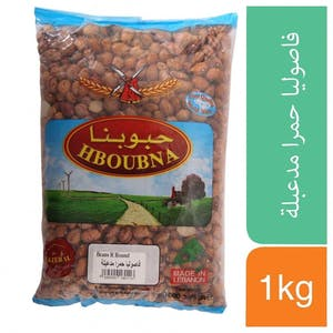 Hboubna Red Round Beans 1000 g