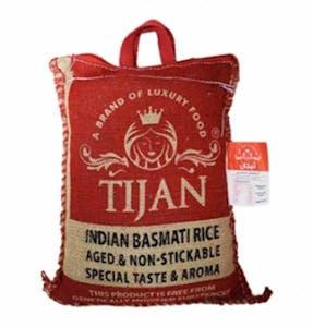 Tijan Premium Indian Basmati Rice 4.54 kg