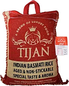 Tijan Premium Indian Basmati Rice 3.625 kg