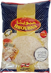 Hboubna Basmati Rice 1000 g