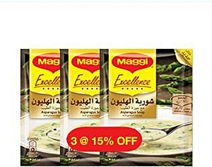Maggi Excellence Asparagus Soup 3's @15%