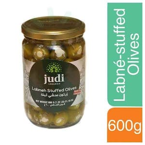 Judi Labné-stuffed Olives 600 g