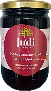 Judi Mashed Strawberry Jam 800 g