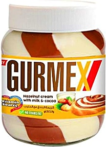 Gurmex Hazelnut Cream With Milk & Cocoa Jar 700 g