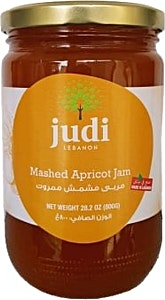 Judi Mashed Apricot Jam 800 g