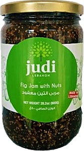 Judi Mashed Fig With Nuts  Jam 800 g
