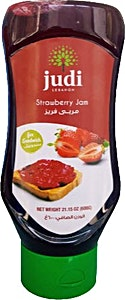 Judi Mashed Strawberry Jam For Sandwich 600 g