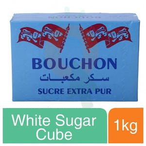Bouchon White Sugar Cube 1 kg