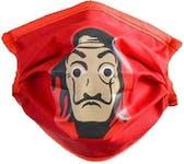 Red Dali Adult Washable Mask
