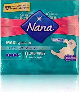 Nana Maxi Long Wings 9's