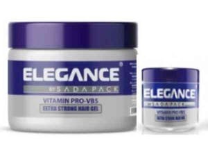 Elegance Extra Strong Hair Gel 250 ml + 100 ml Free