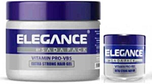 Elegance Extra Strong Hair Gel 250 ml + 100 ml Free