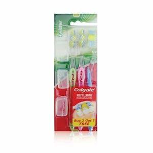 Colgate Twister Toothbrush Medium 2 + 1 Free