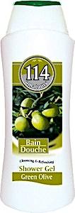 114 Shower Gel Green Olive 750 ml