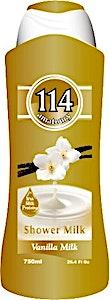 114 Shower Gel Vanilla Milk 750 ml
