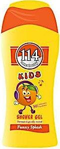 114 Kids Shower Gel Funny Splash 250 ml