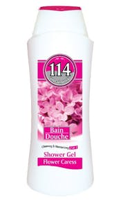 114 Shower Gel Flower Caress 750 ml