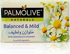 Palmolive Soap Balanced & Mild With Chamomile & Vitamine 120 g