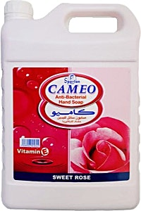 Cameo Anti Bacterial Hand Soap Sweet Rose  4L