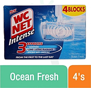 Wc Net Ocean Fresh Blocks 4's