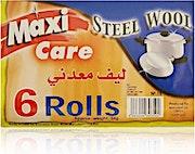 Maxi Care Steel Wool 6 rolls