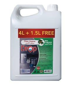 Chemex Drop Floor Cleaner Pine Liquid 4 L + 1.5 L Free