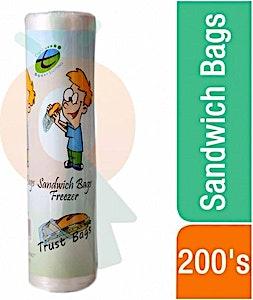 Trust Sandwich Bags Rolls 200's