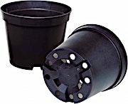 Plastic Round Pot 9 cm