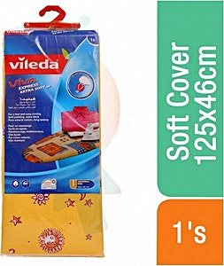 Vileda Extra Soft Ironing Board Cover 125x46 cm