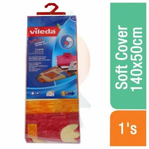 Vileda Extra Soft Ironing Board Cover 140X50 Cm