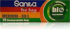 Sanita Bio-Degradable Tie Bag Medium 20's