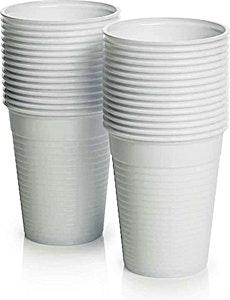 White Plastic Cup GPI 200 cc x 100's