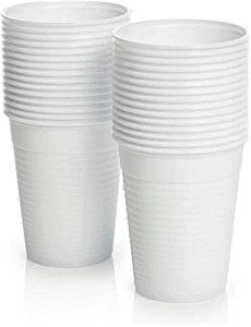 Eco White Plastic Cup 120 cc x 100's