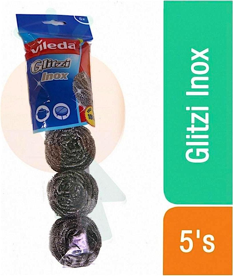 Vileda Glitzi Spiral Inox 5's