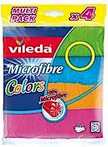 Vileda Microfibre Colors 4's